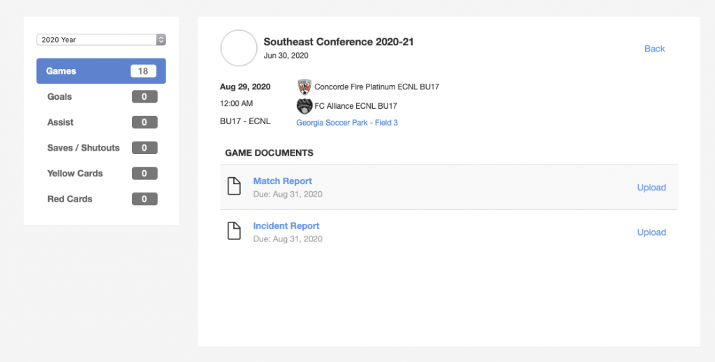 How To Report Scores For ECNL and RL - 3